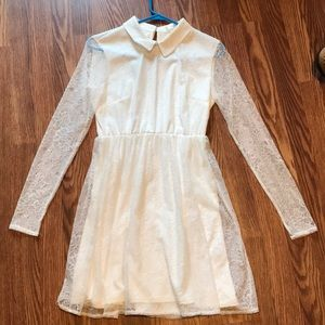 Oh my love London collared lace dress